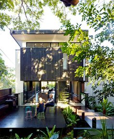 Australian Paddington Residence by Ellivo Architects Studio modern australian suburban culture architecture