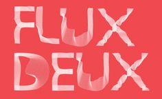 Flux Deux #font #flux #design #typography
