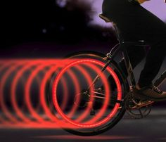 SpokeLit Bicycle Light #light #gadget