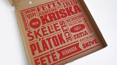 Szelet | Lovely Package #red #slice #pizza #type #typography