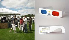 3D Glasses #design #cards #graphic #business