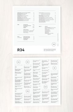 Row 34 Main Menu #menu #print