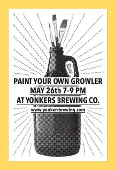 poster design for yonkers brewing co. #design #graphic design #poster #poster design #type #Typography #bitmap #halftone #beer #craft beer #