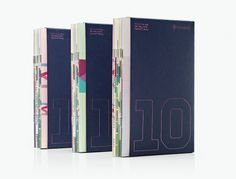 Fontsmith - 10 Years in type #font #fontsmith #packaging #books #set #type #typography