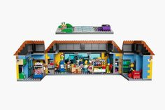 The Kwik-E-Mart From The Simpsons Lego_1 #simpsons #kwik-e-mart #lego #the