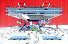 Rem Koolhaas, Saitama Arena, Tokyo. 1994 #architecture