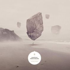 Anthony Drawn - a beautiful fragile balance #packaging #music #cover #artwork #lp