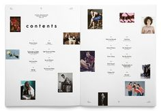 CONTENTS #editorial #magazine