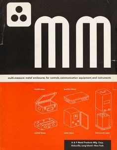 The cover of a catalog for 'Multi-Measure Metal Enclosures' #print