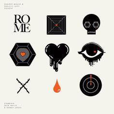 ROME icons #illustration #grapgic #icons