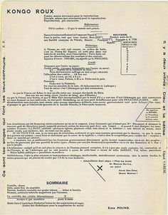 Dada Periodicals - 391 - Francis Picabia