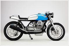 Moto Guzzi Cafe Racer - 'Kaffeemaschine5' - Pipeburn - Purveyors of Classic Motorcycles, Cafe Racers & Custom motorbikes #bike