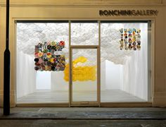 It's Nice That : Jacob Hashimoto's high-flying installation is a real wonder at the Ronchini Gallery #design #kite #art