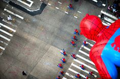 Intersection | Macy's Day Parade #photo #spiderman