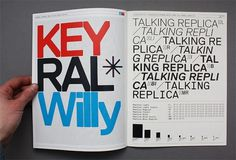 Norm Replica Specimen – Luke Archer #replica #norm #typography