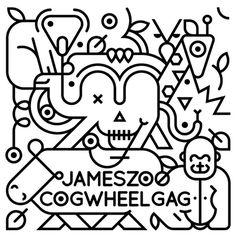 Jameszoo sodavekt #illustration