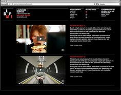 Laurence Dutton #website #moving #design #image