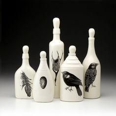 Set of 5 Bottles: Black Bird - Black Birds - Collections