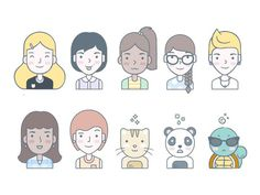 Citizens of Dropbox #illustration