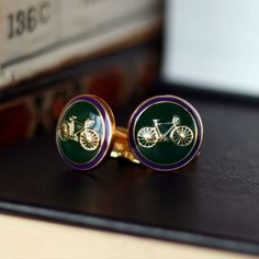 Racing Green #cufflinks