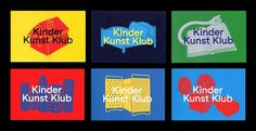 Kinder Kunst Klub | Grilli Type | Independent Swiss Type Foundry | Free Trial Fonts #illustration #typography