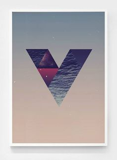 Shapes of the space #print #shapes #space #poster