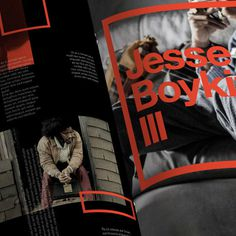 Garage #layout #editorial #magazine