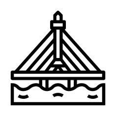 See more icon inspiration related to bangkok, architecture and city, bridge, thailand and building on Flaticon.