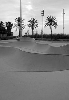 BCN_ Skate Park Mar Bella PHOTOGRAPHIE (C) [ catrin mackowski ]