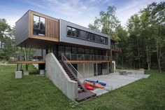 Weekend Family Home Incorporating Green Features by David Jay Weiner #architecture
