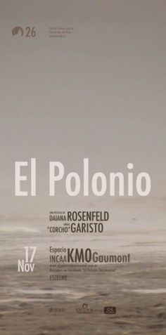 El polonio, Cocumental by Diego Pinzon at Coroflot #diego #movie #pinzon #flyer #brand #identity
