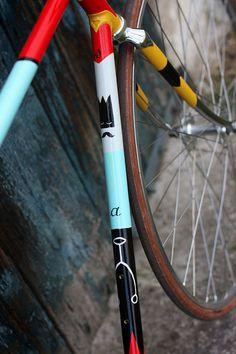 Biascagne Cicli x Riccardo Guasco #paint #bike