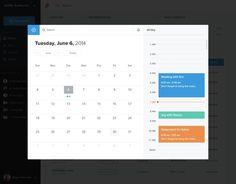 Rushtax-calendar #dashboard