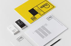 PFF_stationery #logo #letterhead #identity #branding