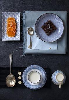 Things Organized Neatly #blue #time #orange #tea