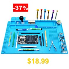 BESBEST #Silicone #Mats #Mobile #Phone #Repair #Workbench #- #DEEP #SKY #BLUE