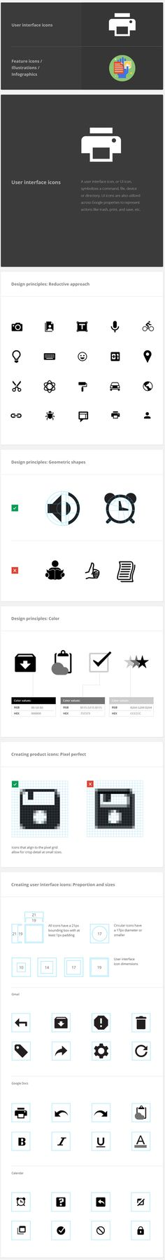 Google Visual Assets Guidelines Part 2 on Behance #google