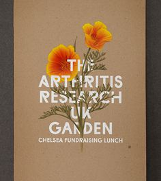 Graphic Porn #illustration #typography #poster #flowers