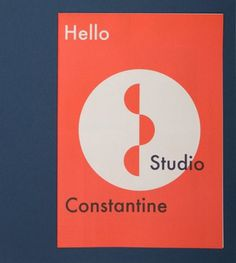 design work life » Studio Constantine: Stationery and Promotional Materials #design #poster