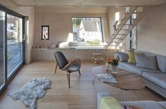 Extension of a single family house