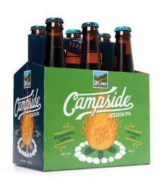 Upland Brewing Six Pack #packaging #beer
