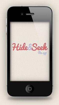 Hide&Seek #seek #mckay #design #hide #iphone #app #and #stephen