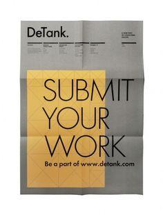 A.N.D Studio Blog #print #design #graphic #boix #detank #poster #erola #typography