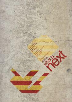 FIght against terrorism | poster on the Behance Network #non #blast #design #violance #poster #graphics #terrorism