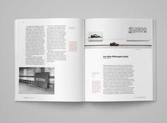 Documents on Conceptual Art page layout, book design by The Frontispiece