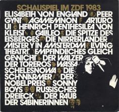 Schauspiel im ZDF (1978–83) - Fonts In Use