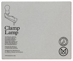 Google Image Result for http://martinlof.se/wp-content/uploads/2010/02/clamp-lamp-box.jpg #packaging