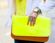 Style / ... #clutch #colourful #style