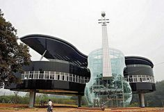 The Piano House (Anhui, China) #building #architecture #house #interesting