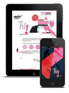 Sebastian Tudor - Art Director /Brand designer #iphone #ipad #website #vento mobile